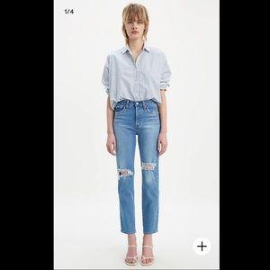 🔥🔥🔥NWT LEVI'S premium Wedgie Fit Jeans